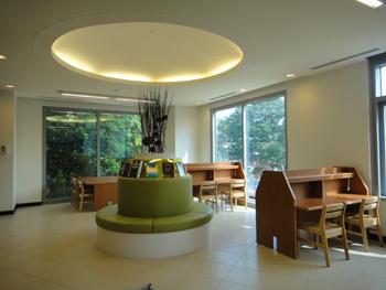 臺大數學系圖書室閱覽座椅