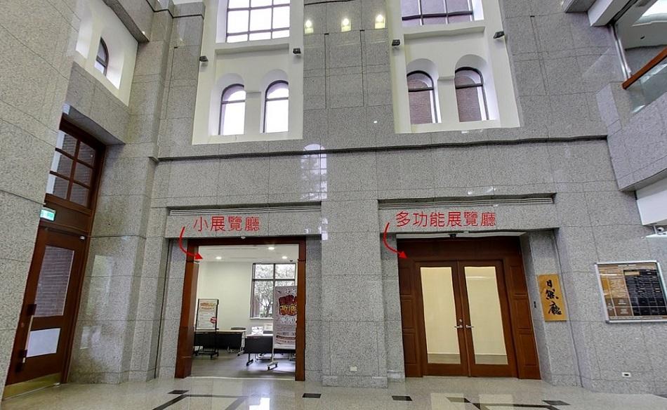 展览厅(日然厅)     本场地约70坪,提供有24片轨道式活动展板及活动