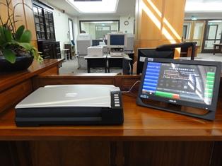 掃描器D-總館五樓閱覽區